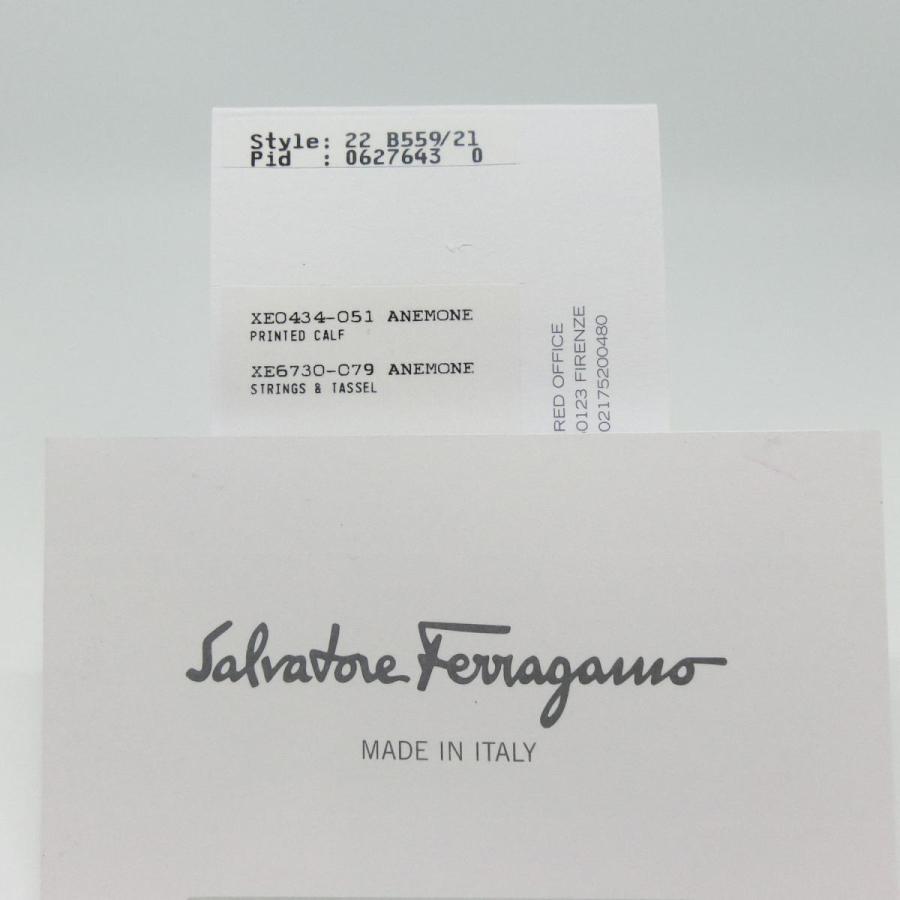 【送料無料】【未使用品】フェラガモ Ferragamo ヴァラリボン 二つ折り長財布 アネモネピンク  22B559 06276430|shichi-nishigaki|08