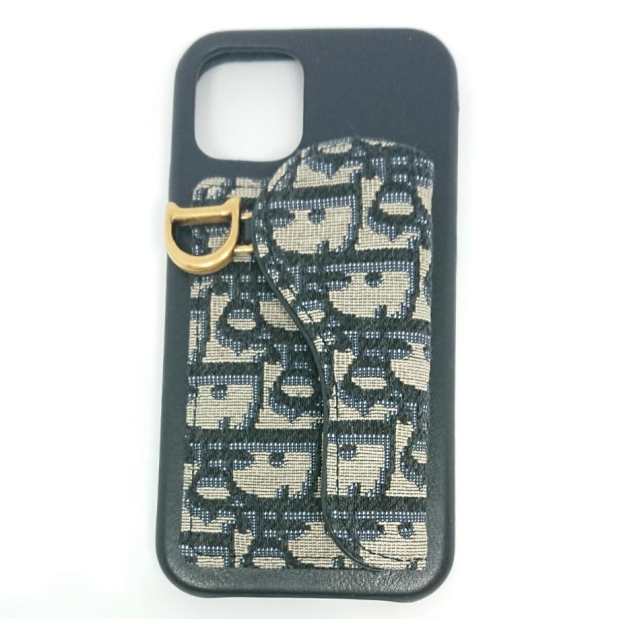 【送料無料】【未使用品】クリスチャンディオール Christian Dior サドル iPhone12/12Proケース|shichi-nishigaki