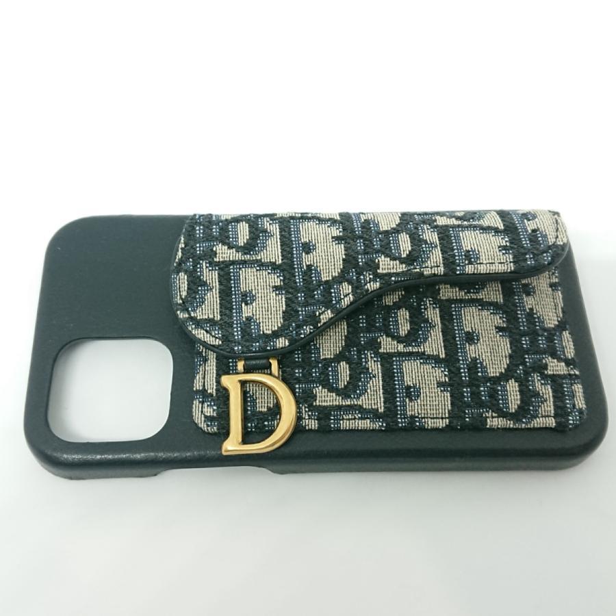 【送料無料】【未使用品】クリスチャンディオール Christian Dior サドル iPhone12/12Proケース|shichi-nishigaki|02