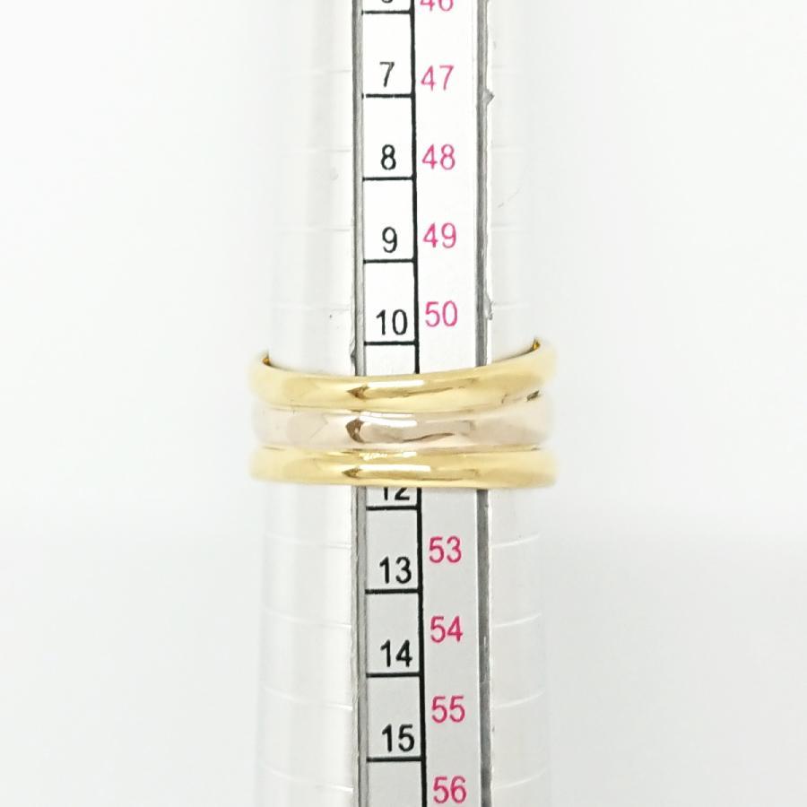 【送料無料】ポンテヴェキオ Ponte Vecchio 750YG/WG ダイヤモンド0.13ctリング 11号★新品仕上げ済★ shichi-nishigaki 08
