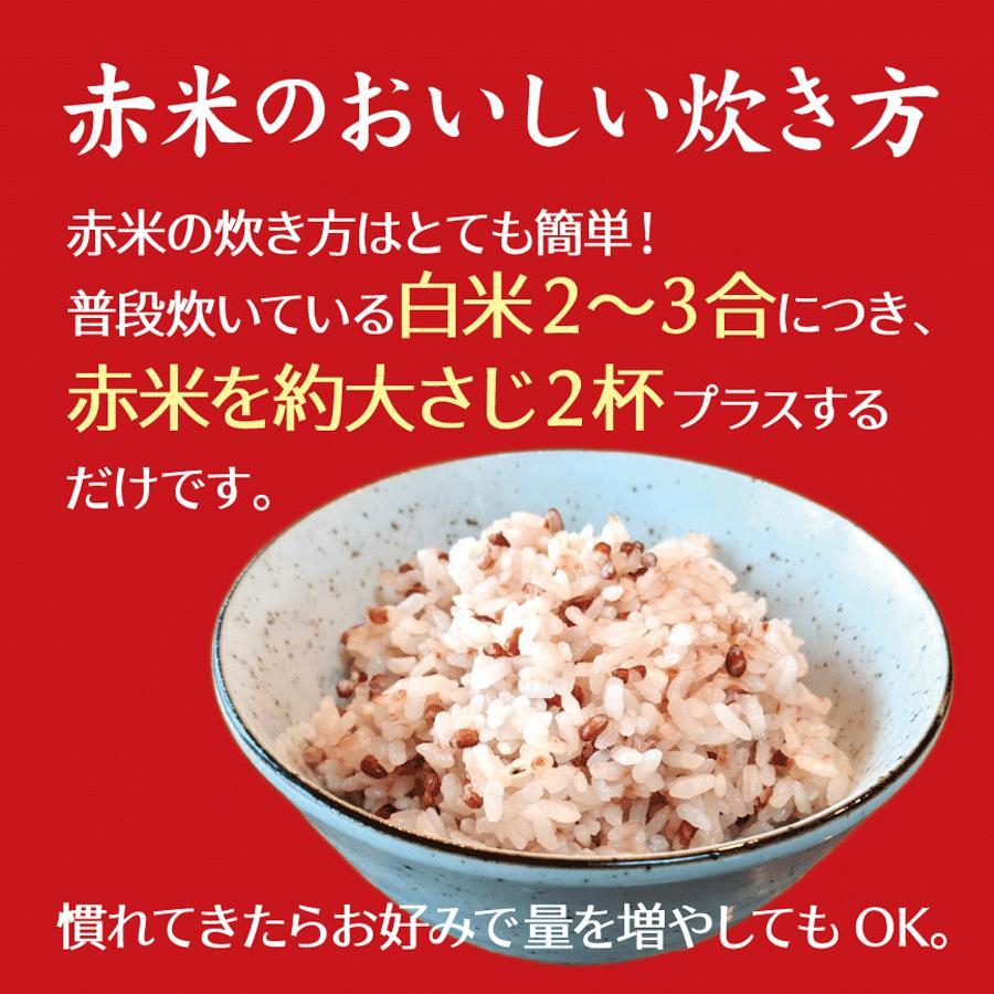 滋賀県東近江市蒲生野産 克勝あかね赤米 - 250g(真空パック)|shigahochi|08