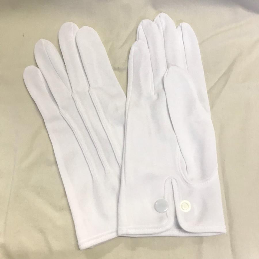 スムス 礼装用ナイロン手袋 ナイロンダブル紳士用ホック付き巻べり 1双|shigoto-tebukuro