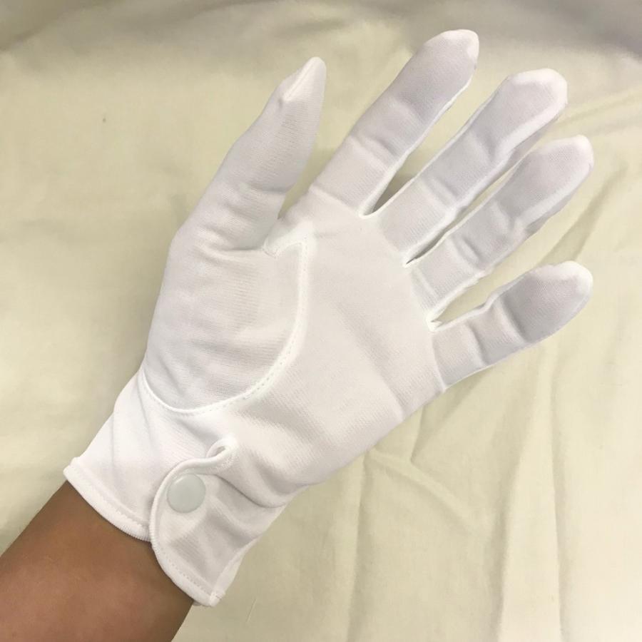 スムス 礼装用ナイロン手袋 ナイロンダブル紳士用ホック付き巻べり 1双|shigoto-tebukuro|04