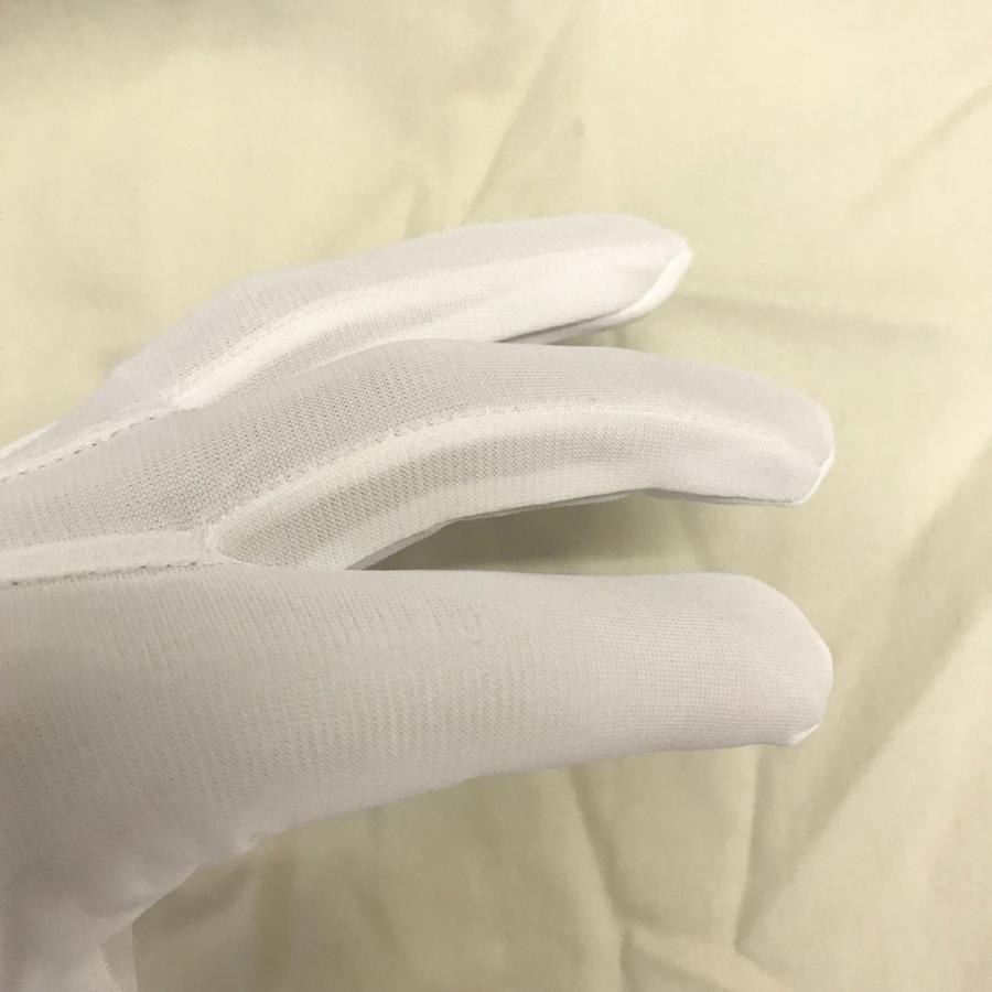 スムス 礼装用ナイロン手袋 ナイロンダブル紳士用ホック付き巻べり 1双|shigoto-tebukuro|05