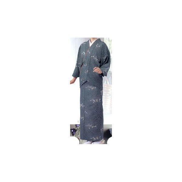 茶衣着(桜花文様京小紋/グリーン):サンペックス 0821408 OD-200