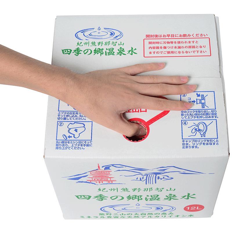 【四国地方へ送料無料】 バックインボックス20L(開栓コック付き)【徳島・香川・愛媛・高知】 shikinosato-onsen 02