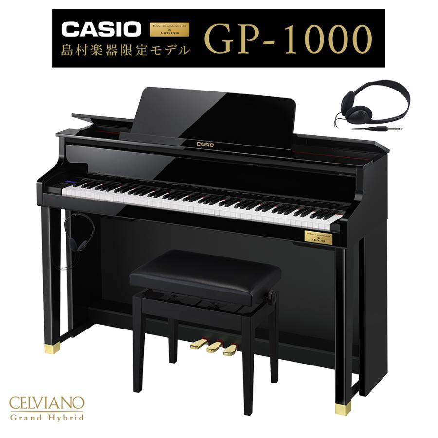 CASIO GP-1000 ブラックポリッシュ仕上げ