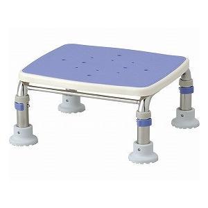 【国産】 (浴槽台・踏み台) 536-499 20-30 ブルー ステンレス製浴槽台Rジャスト (アロン化成)-介護用品