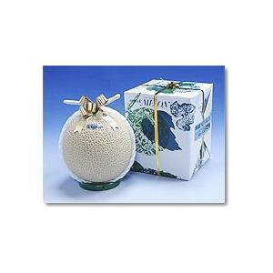 ギフト 贈答 静岡産 温室マスクメロン アローマ印 1個入 送料無料 山級 1.5kg前後|shimazaki-nouen