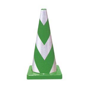 Wコーン緑 KEY-794K 高輝度反射タイプ (10本)