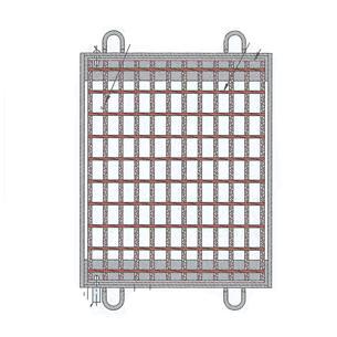 (株)中部コーポレーション 110°開閉式桝蓋 VG5M55-46 (400×600)T-14