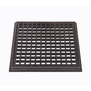 (株)中部コーポレーション 鋳鉄製 枠付格子蓋 G1-S 450×20 (歩道用)