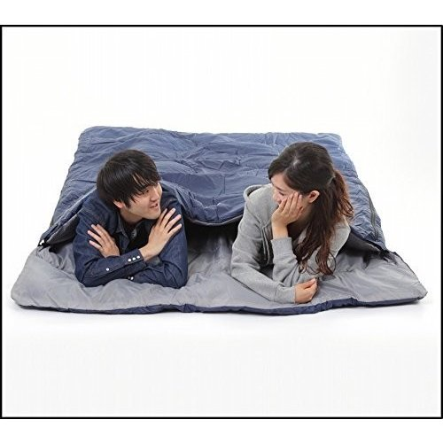 MerMonde (メルモンド) 寝袋 2人用 コンパクト 最低温度-15℃ 春夏秋冬 オールシーズン シュラフ アウトドア/キャンプ/防災