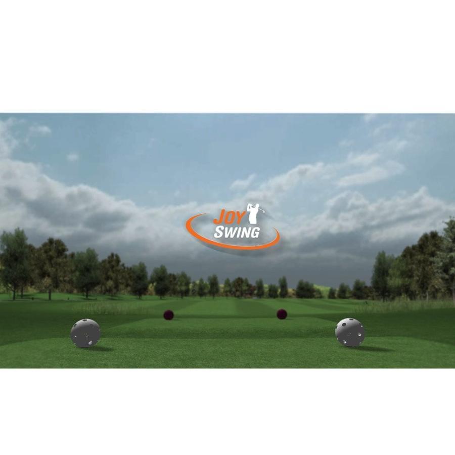 佐藤商事 家庭用シミュレーションゴルフ(ジョイ スイング)JOY SWING STL-PG100