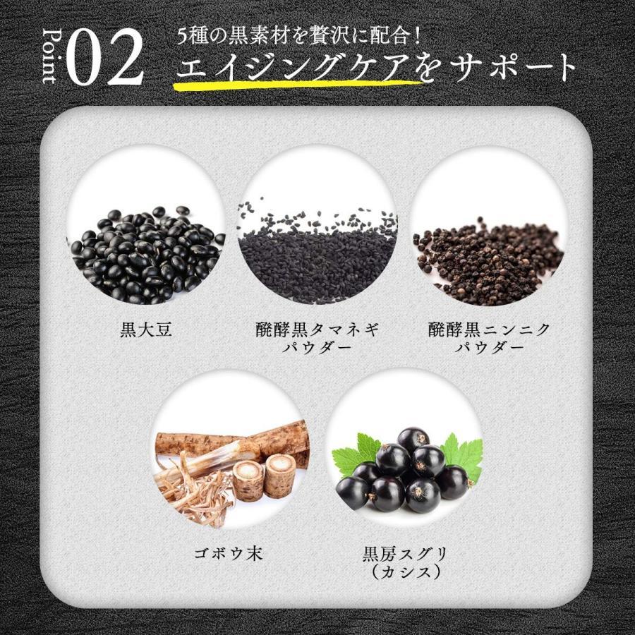 ベジエ ベジバリア塩糖脂ブラック 180粒 shimizunet004 06