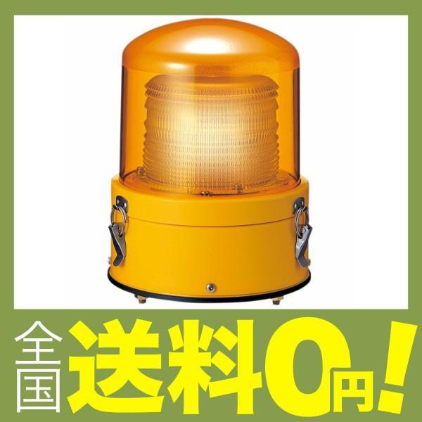 パトライト LEDフラッシュ表示灯 AC100/200/230V 黄 XME-M2-Y