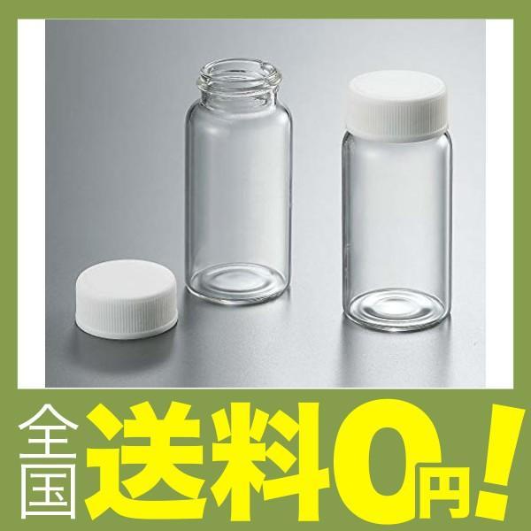 ガラスシンチレーションバイアル(キャップ付) 100個×5トレー入 66022-128 /3-282-01