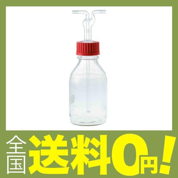柴田科学 ねじ口洗浄びん フィルター付 500mL 014660-500