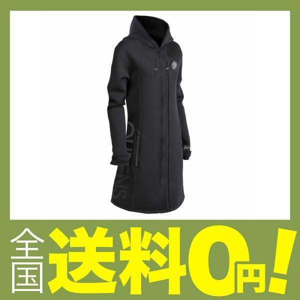 J-FISH ラッシュガード QUEENS ツアーコート 黒 L JQC39115
