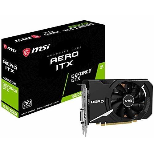 MSI GeForce GTX 1650 SUPER AERO ITX OC グラフィックスボード VD7130