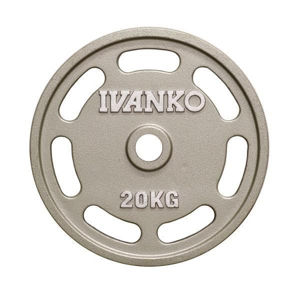 大勧め IVANKO(イヴァンコ)ペイントイージーグリッププレート20kg OMEZ-20, DreamGolf dfb0d003