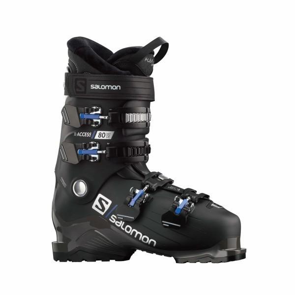 【残りわずか】 SALOMON(サロモン) スキー ブーツ X ACCESS 80 wide (エックス アクセス 80 ワイド) L40850800 BLACK/White 27/27.5, 小山町 bc7a98d9