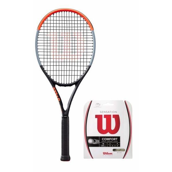 本物 Wilson(ウイルソン) (ガット張り上げ対応) - 100) 硬式 WR00 テニスラケット CLASH 100 (クラッシュ 100) - グリップサイズ2(G2) WR00, 名入れプレゼント ドットボーダー:b25f099a --- airmodconsu.dominiotemporario.com