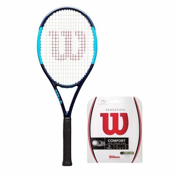 素晴らしい外見 Wilson(ウイルソン) (ガット張り上げ対応) 硬式 テニスラケット ULTRA TOUR 95 CV (ウルトラツアー 95 CV) - グリップサ, 日進堂 6dc5ec74