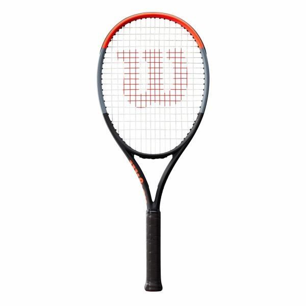 最安 Wilson(ウイルソン) (ガット張り上げ対応) 硬式 テニスラケット CLASH 108 (クラッシュ 108) - グリップサイズ2(G2) WR00, シマバラシ 2995cca9