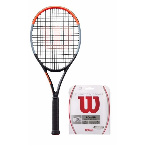 憧れ Wilson(ウイルソン) (ガット張り上げ対応) 硬式 テニスラケット 硬式 CLASH 100 (クラッシュ (クラッシュ 100) - - グリップサイズ3(G3) WR00, Mike Museum:913a89ea --- airmodconsu.dominiotemporario.com