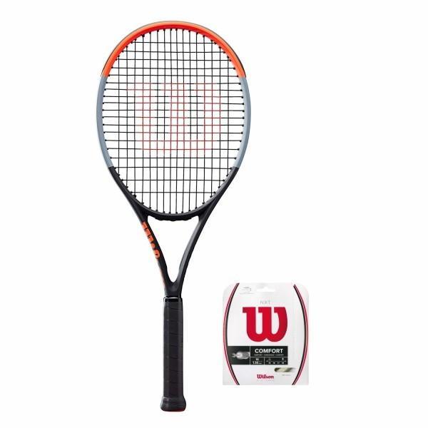 セール特価 Wilson(ウイルソン) (ガット張り上げ対応) 硬式 テニスラケット CLASH (クラッシュ 100 (クラッシュ テニスラケット 100) - Wilson(ウイルソン) グリップサイズ3(G3) WR00, ジュエリー工房 Alma:a70c0ec8 --- airmodconsu.dominiotemporario.com