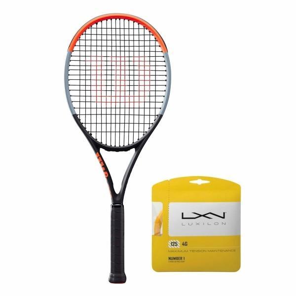 名作 Wilson(ウイルソン) (ガット張り上げ対応) 硬式 テニスラケット CLASH 100 (クラッシュ 100) - グリップサイズ3(G3) WR00, 市場町 83d38d9f