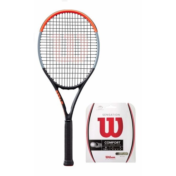 【当店一番人気】 Wilson(ウイルソン) (ガット張り上げ対応) 硬式 テニスラケット CLASH テニスラケット 100 (クラッシュ (クラッシュ 100) 硬式 - グリップサイズ3(G3) WR00, MASPHALTO:0797d07a --- airmodconsu.dominiotemporario.com