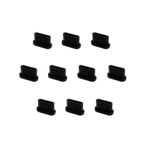 monofive USB3.1 Type-Cポート防塵保護カバー・キャップ(10個入り) シリコンタイプ MF-TYPEC-C10B shimoyana