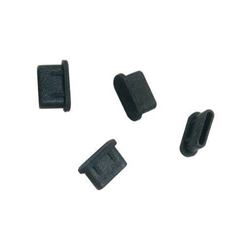 monofive USB3.1 Type-Cポート防塵保護カバー・キャップ(10個入り) シリコンタイプ MF-TYPEC-C10B shimoyana 02
