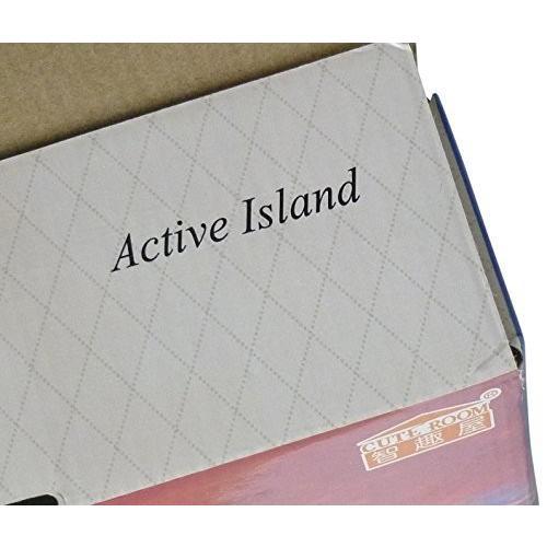 Active Island ドールハウス キット DIY スタンド ミニチュア 初心者 向け LED 照明 ボックスシアター a405 (コーヒー|shimoyana|09