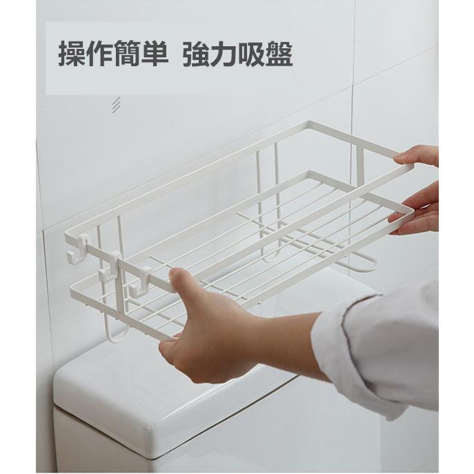 トイレ小物 棚 コーナーラック 簡単収納  浴室 ティッシュ収納 ラック スタンド おしゃれ 壁面 水切り設計 shin-8 11