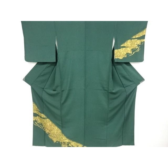リサイクル 金彩浮見堂模様刺繍訪問着