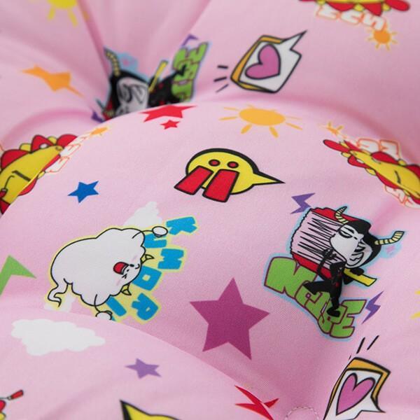 サンサンキッズTV クッション 子供用 日本製 学童 スクール 幼稚園 保育園 小学校 かわいい 正規品 人気 ランキング 30×30×5cm|shingman2|07
