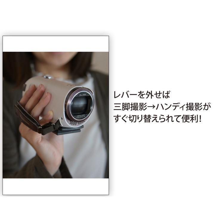三脚 ビデオカメラ  129cm コンパクト 軽量 一眼レフ  発表会 お遊戯会 記念日 運動会|shingushoko|08