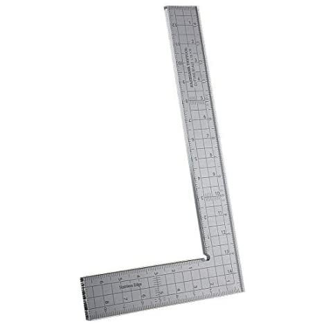 ハセガワ トライツール カッティングスケール L字型(15cm×9cm) プラモデル用工具 TT115 shining-store