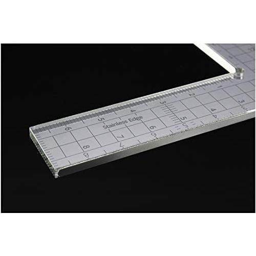 ハセガワ トライツール カッティングスケール L字型(15cm×9cm) プラモデル用工具 TT115 shining-store 03