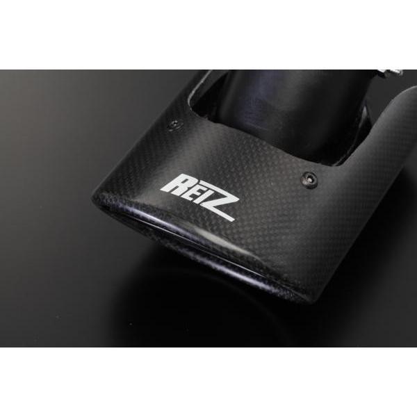 【REIZ(ライツ)】 【リアルカーボン】 HA36S アルトワークス/アルトターボRS カーボン製マフラーカッター shiningparts