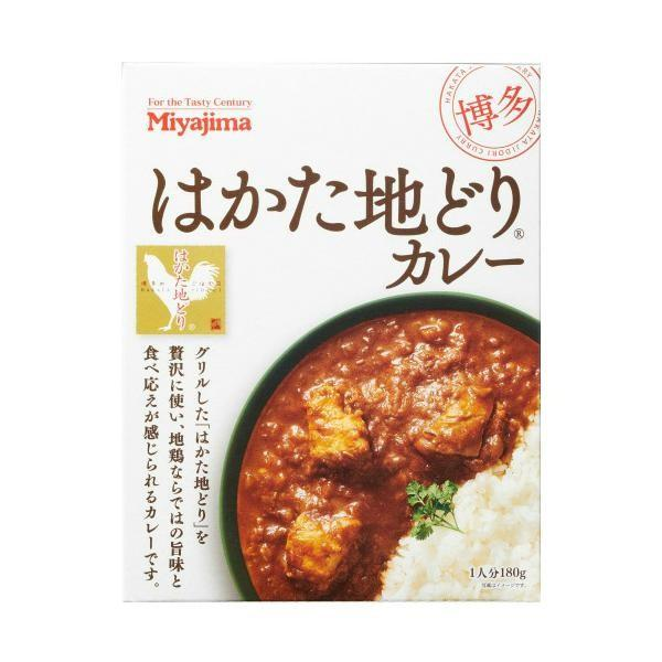 宮島醤油 はかた地どりカレー (180g×5箱)×6 518010