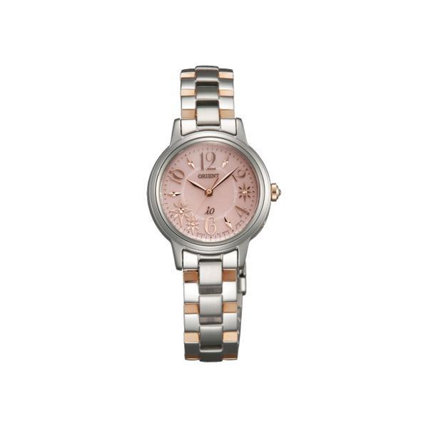 【予約受付中】 オリエント ORIENT イオ iO スイートジュエリー・スイートコスメ ソーラー レディース 腕時計 WI0031SD 国内正規 ピンク, 九戸郡 25d439af