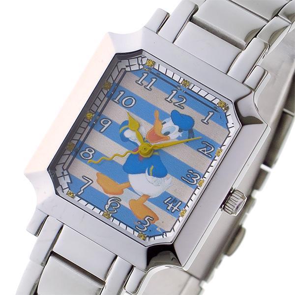 ★日本の職人技★ ディズニーウオッチ Disney Watch クオーツ レディース 腕時計 MC-1612-DO ドナルド マルチカラー, 宮古郡 28f87f0a