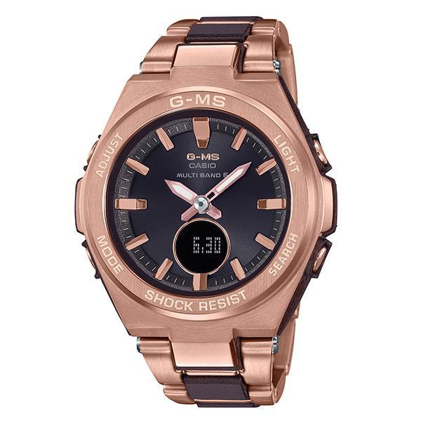 都内で カシオ CASIO 腕時計 レディース MSG-W200CG-5AJF BABY-G クォーツ ブラック ローズゴールド国内正規, スタイルストア 55ac0249