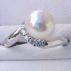完成品 指輪 ブライダル リング パール あこや真珠パール PT900プラチナリング ダイヤモンド 冠婚葬祭 普段使い, カラーハーモニーPRO 1bc687dd
