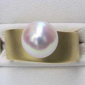 超歓迎 6月誕生石 リング パール 指輪 あこや真珠パールリング 18金 K18ゴールド 冠婚葬祭 普段使い, 小樽市 15d9cbb8
