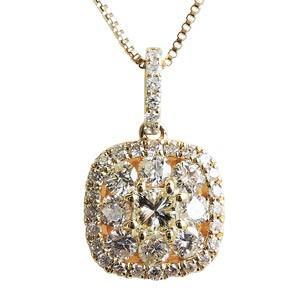 最安 ダイヤモンド ダイヤモンドペンダントネックレス 0.50ct台 18金 ゴールド K18 ダイヤネックレス チェーン付 送料無料, メイワチョウ 16ea6ceb